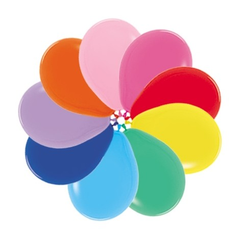 globos colores surtidos 50 uds Fashion solido