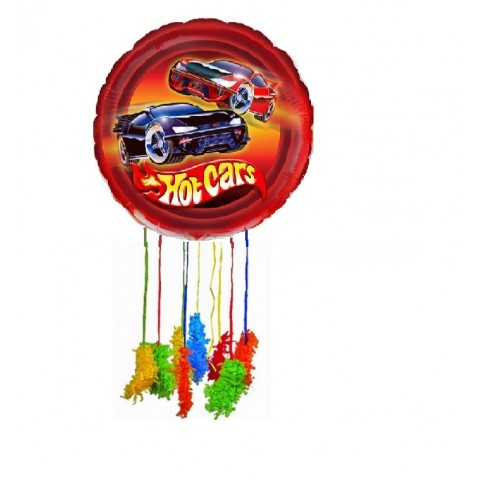 Piñata mediana Hot Cars