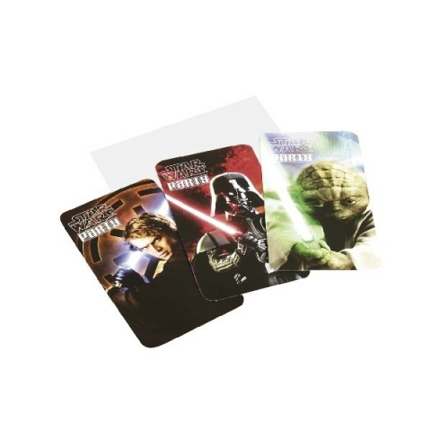 Invitaciones Star Wars 6 uds.