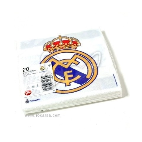 Servilletas Real Madrid
