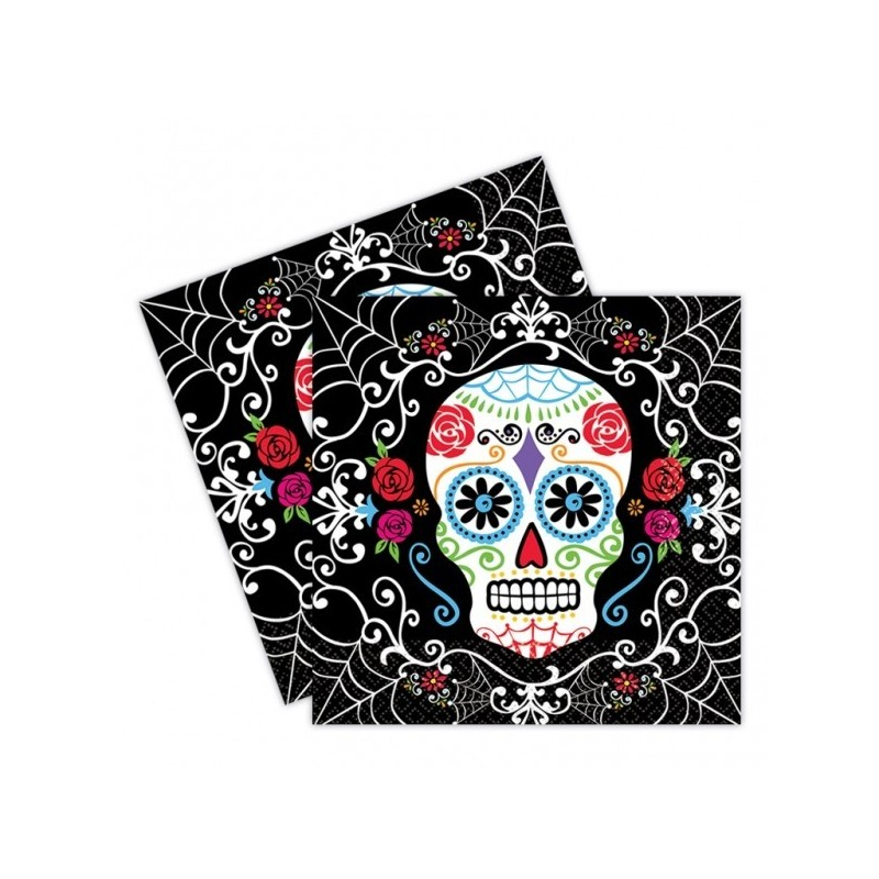 Servilletas Day of the Dead  36 Uds
