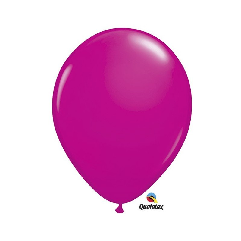"Globo Fashion Wild Berry 16""-41cm Qualatex 5 unidades"