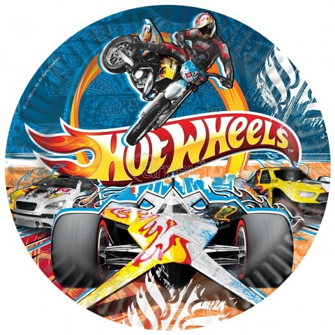 PACK 5 PLATOS 23 CMS HOT WHEELS