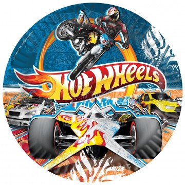 PACK 5 PLATOS G  23 CMS HOT WHEELS
