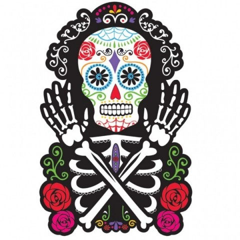 Silueta Grande Day of the Dead