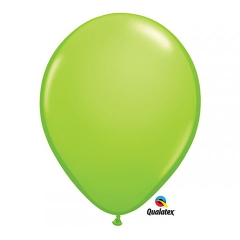 "Globo Fashion Lime Green 16""-41cm Qualatex 5 unidades"