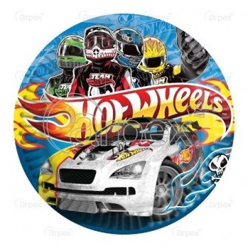 PACK 5 PLATOS P 20.5 CMS HOT WHEELS